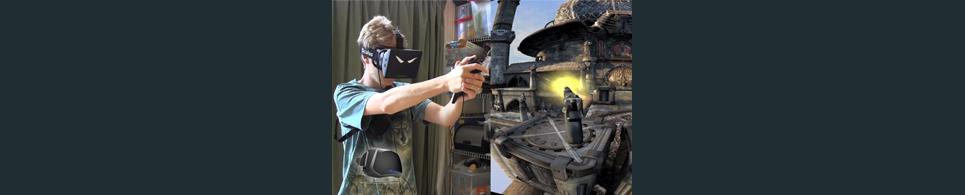 Oculus rift virtual reality show