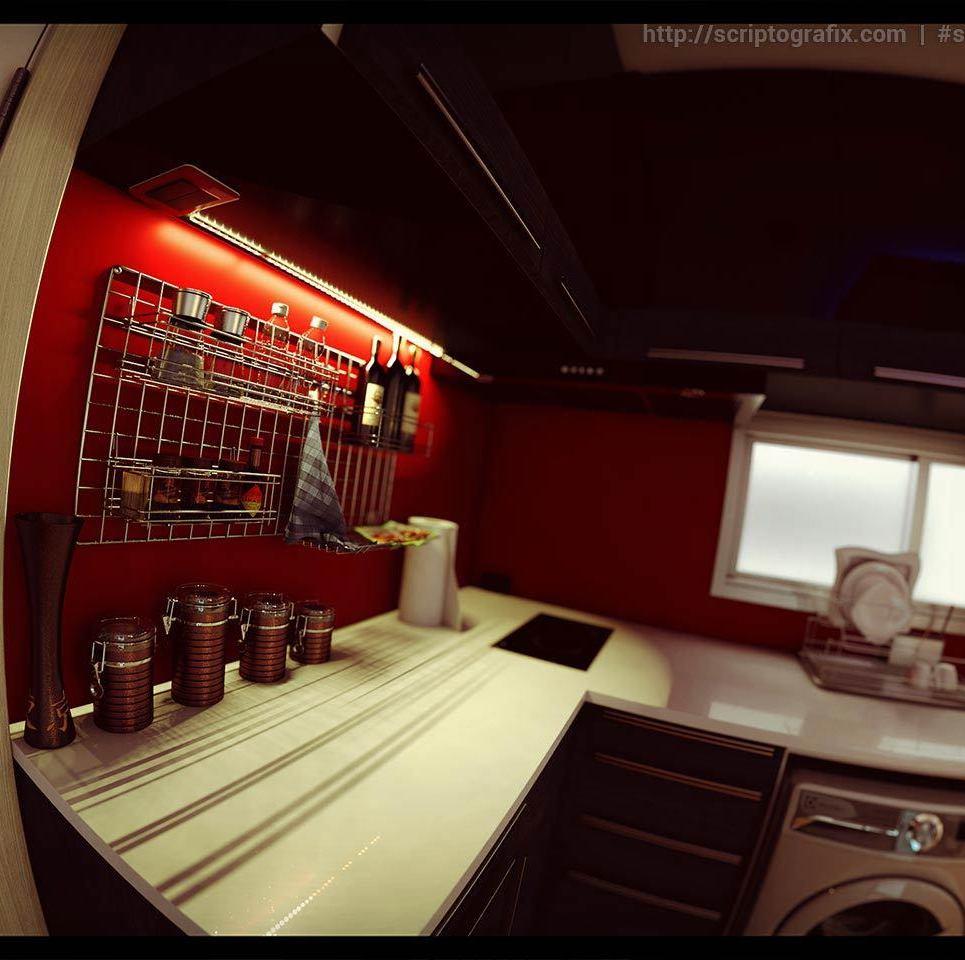 Scriptografix free 3d models for maya vray kitchen show
