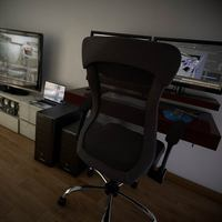 Scriptografix free 3d models for maya vray office chair cover