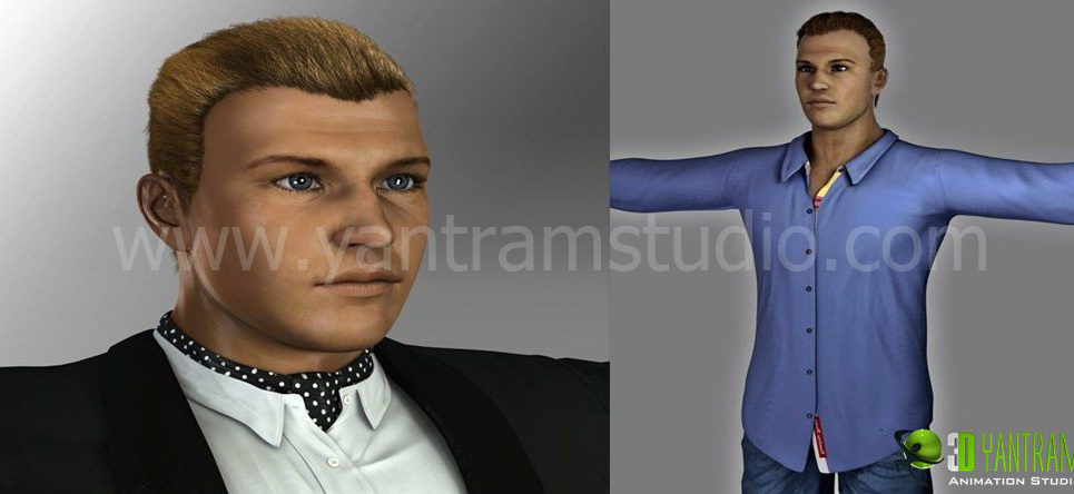 Game character modeling show