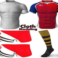 Cloth modeling animations cover