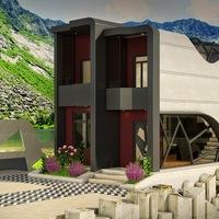 Exterior concept design   modern cover