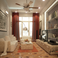 Interior concept design   minimalistic a2 cover