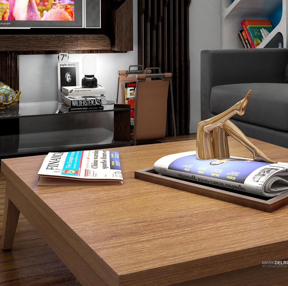 Interior concept design   minimalistic c2 show