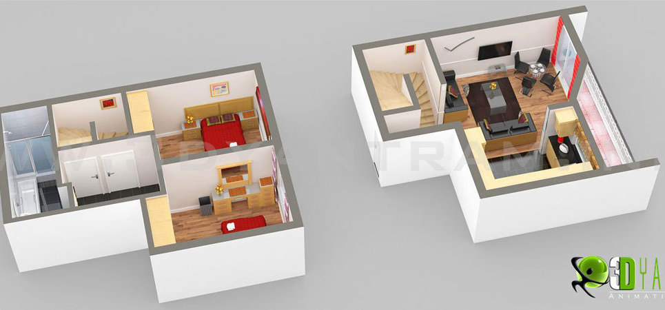 Small home 3d floor plan ukraine show