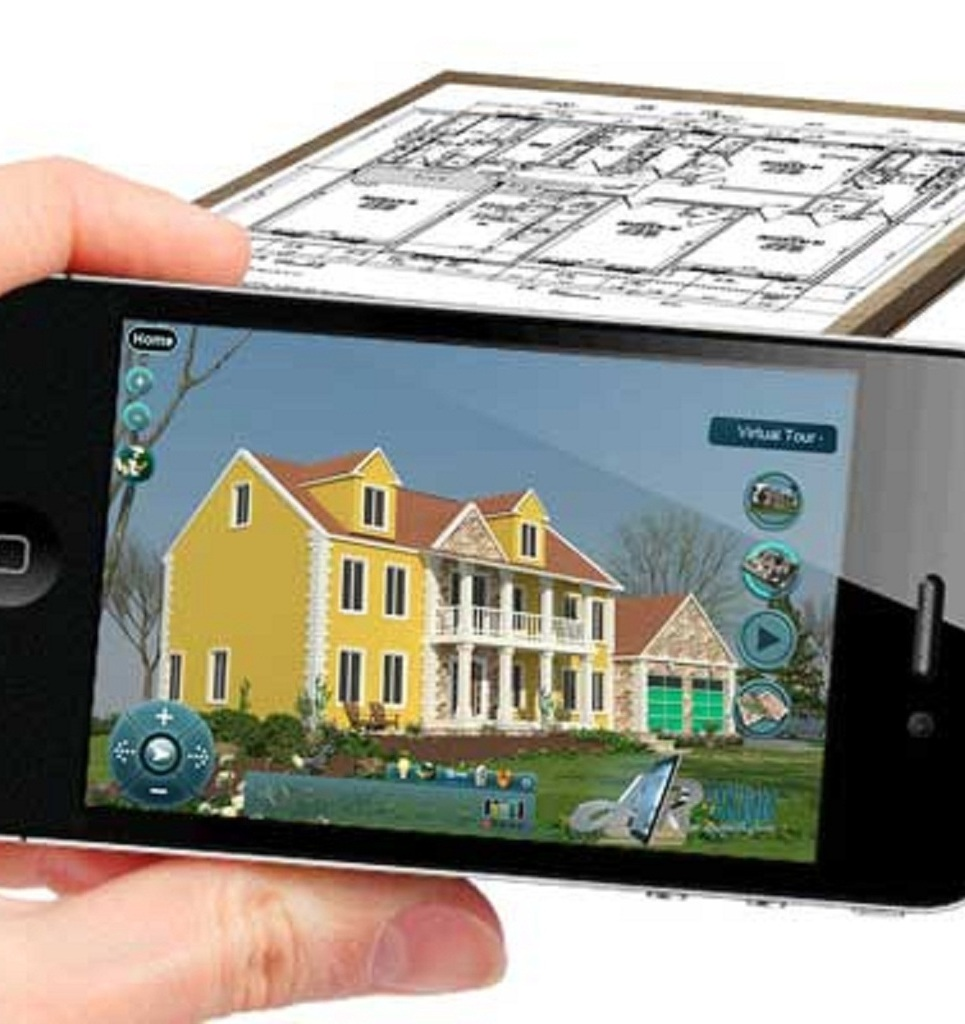 Real estate augmented reality application show