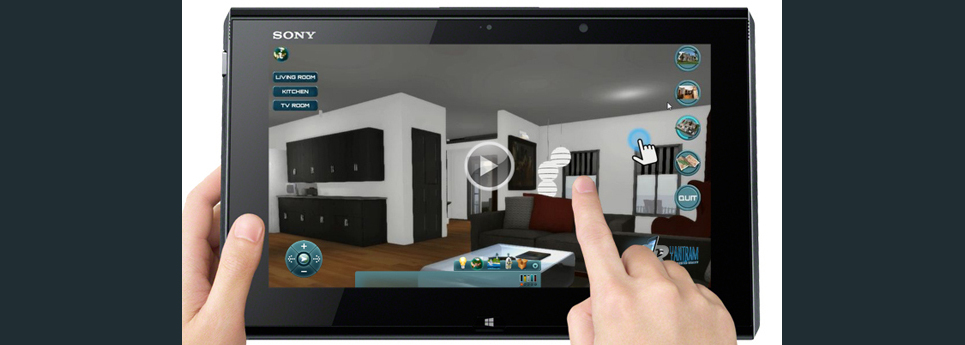 Virtual reality video show