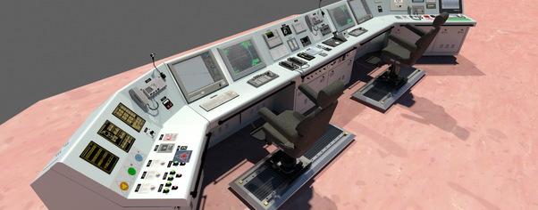 Bridge console wide