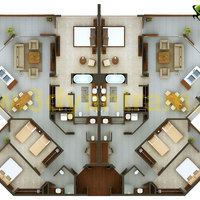2d floor plan cover