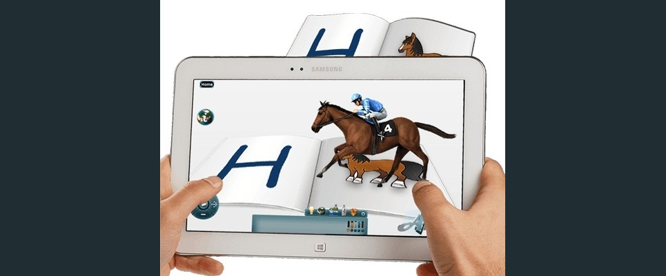 Tablet augmented reality show