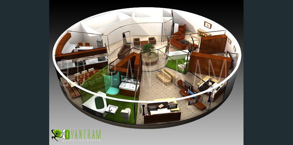 3d floor design show