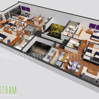 3d floor plan design.. cover