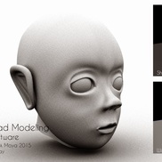 Charecter head modeling final out small