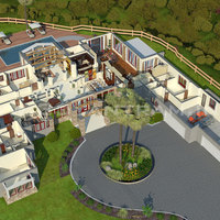 Hotel resort 3d floor plan singapore cover