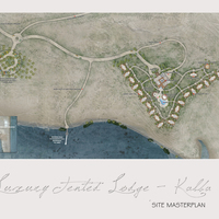 Rendered master plan cover