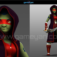 Lotha warrior creature character rigging cover