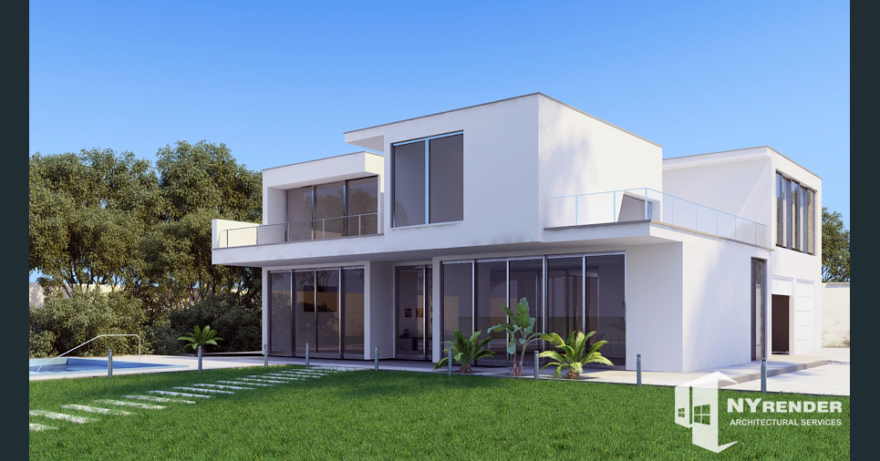 Nyrender architectural rendering show