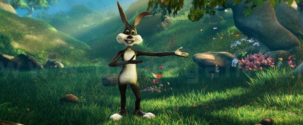 Bunny cartoon character modeling animation show