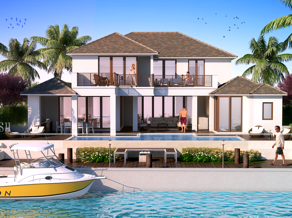 3d architectural rendering new  show