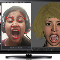 Face motion capture studio cover