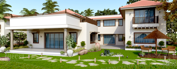 3d architectural rendering new 7 wide
