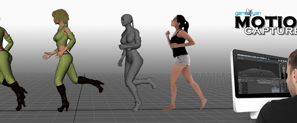 Motion capture animations studio show