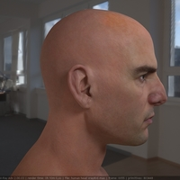 3d model tom cruise head 10 cover