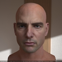 3d model tom cruise head 13 cover