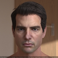 3d model tom cruise head 1 cover