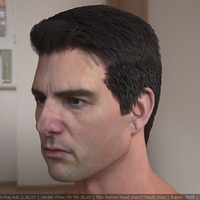 3d model tom cruise head 2 cover