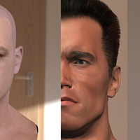 3d model matt damon head test cover