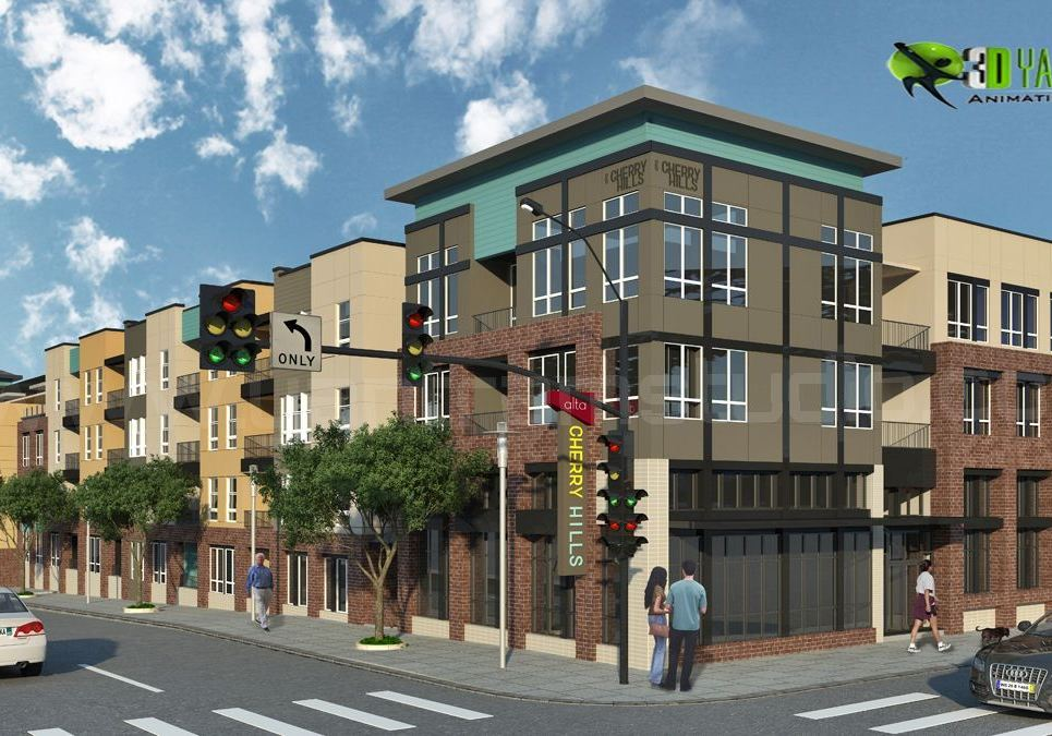 3d residential exterior cgi design show