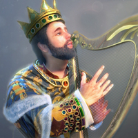 King david potraitrender cover