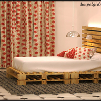 Wooden room cover