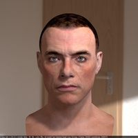 Jean claude van damme 3d model 5 cover