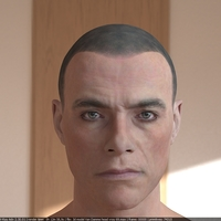 Jean claude van damme 3d model 7 cover