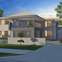 Classic exterior 3d home design cover