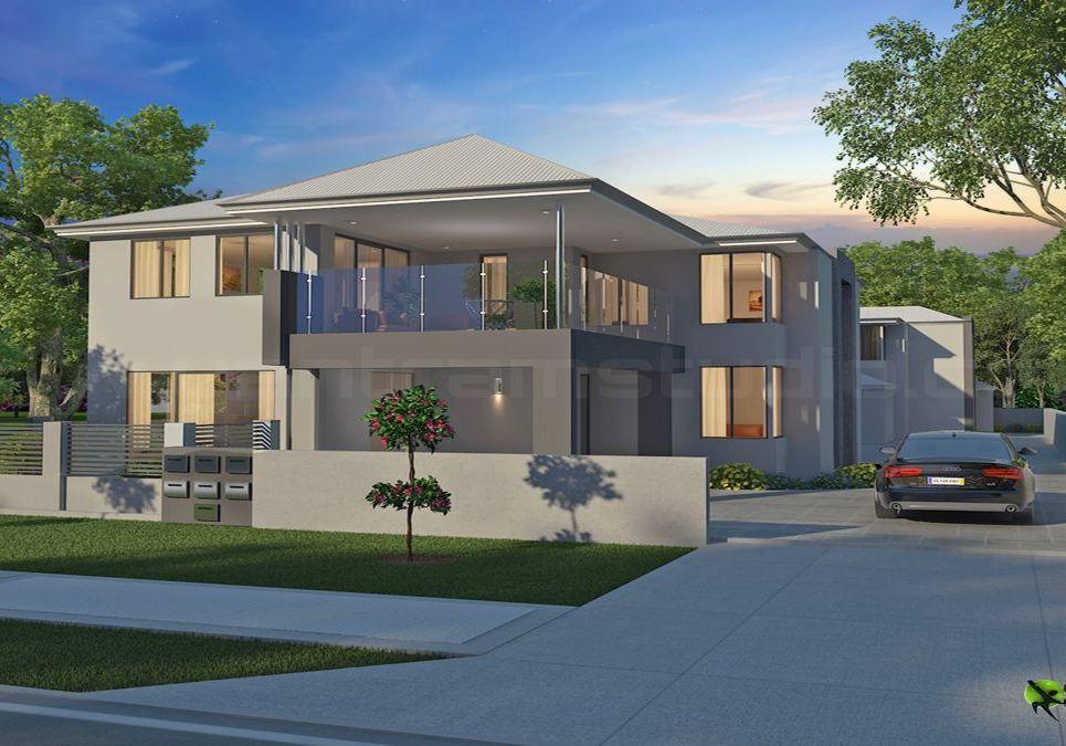 Classic exterior 3d home design show