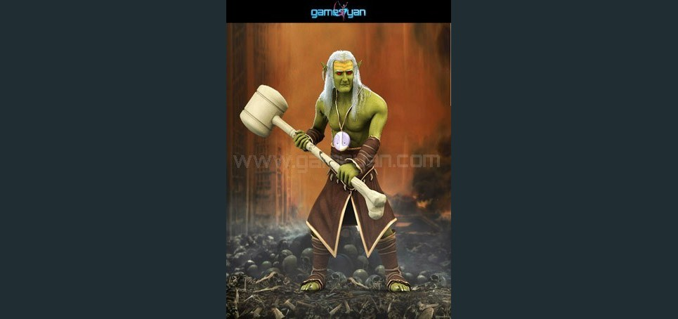 Norkman creature character animation show