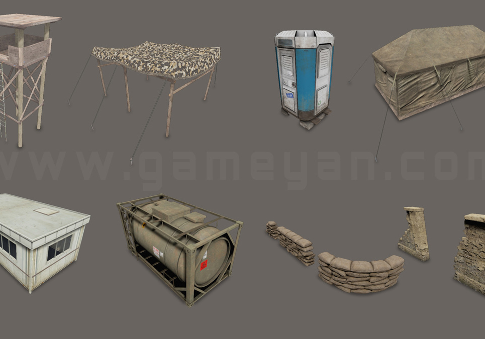3d game asset studio show