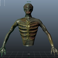 Zombie front wireframe cover
