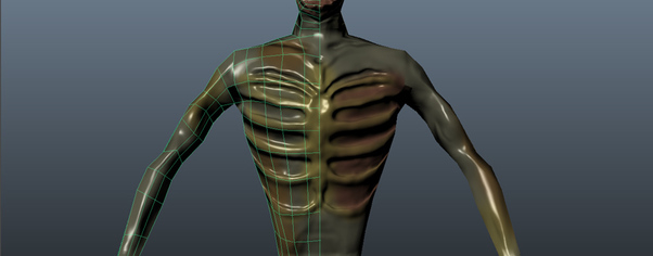 Zombie front wireframe wide