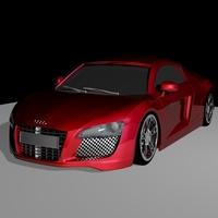 Car model cover