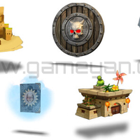 Game development assets cover