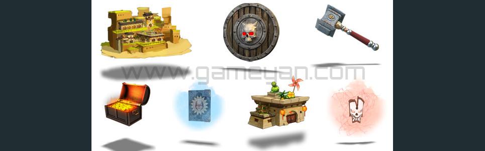 Game development assets show