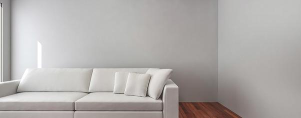 Furniture 3d rendering wide