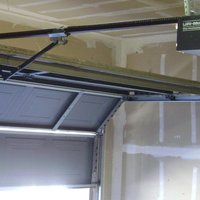 Garage door opener cover