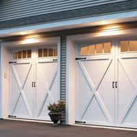 Garage door courtyard 167t cover