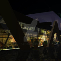 Airport design terminal concept 5 by waleedkarjah d9vaety cover