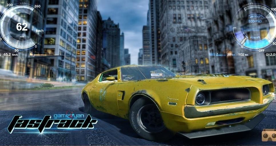 Fastrack vr game app show